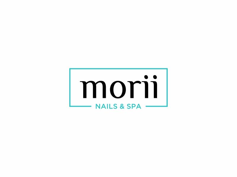 MORII NAILS & SPA logo design by Zeratu