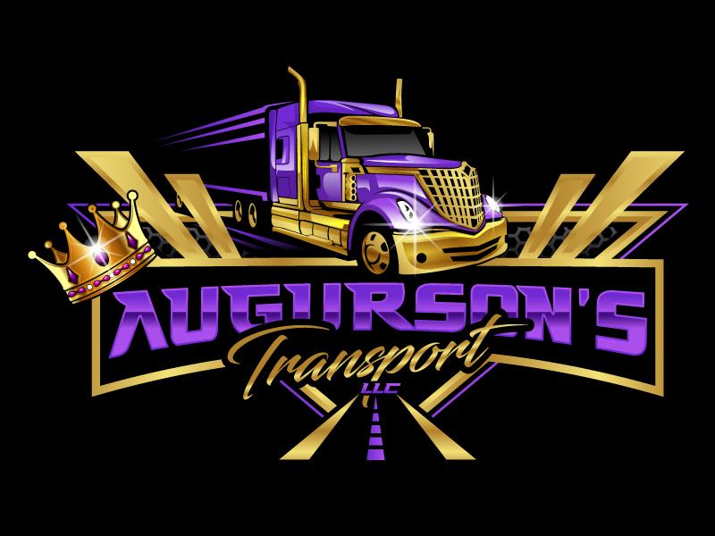 Augurson's Transport LLC logo design by Gigo M