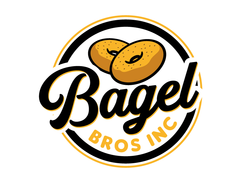 Bagel Bros logo design by jaize
