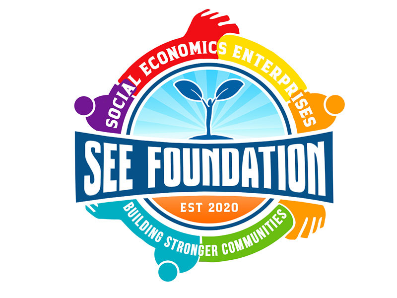 Social Economic Enterprises Foundation Logo Design