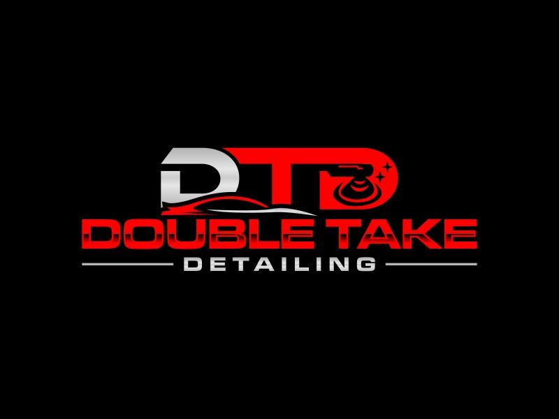 Double Take Detailing logo design by luckyprasetyo