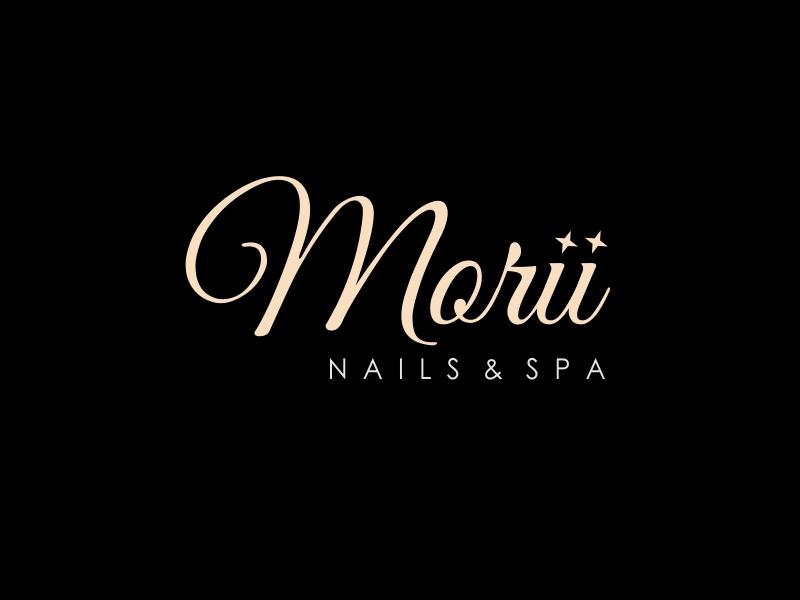 MORII NAILS & SPA logo design by ian69
