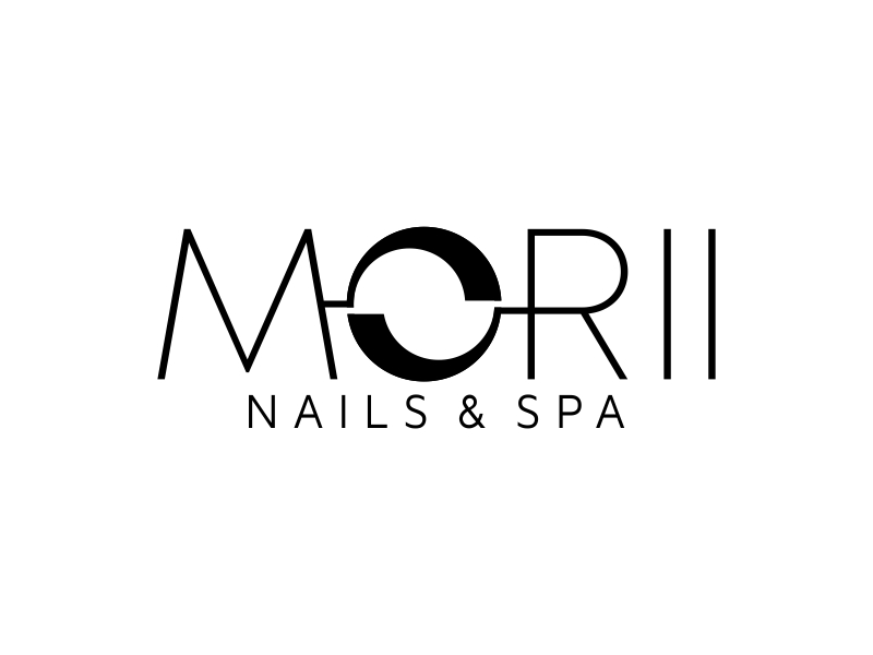 MORII NAILS & SPA logo design by ekitessar