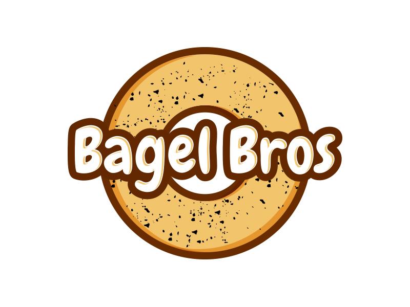 Bagel Bros logo design by keylogo