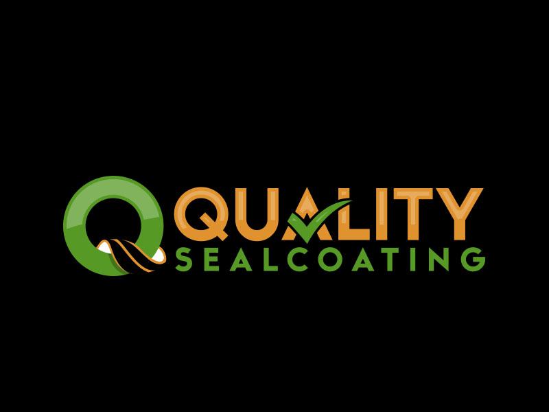 Quality Sealcoating logo design by MarkindDesign™