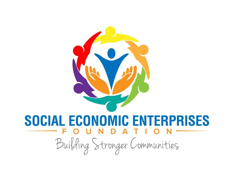 Social Economic Enterprises Foundation logo design by jaize