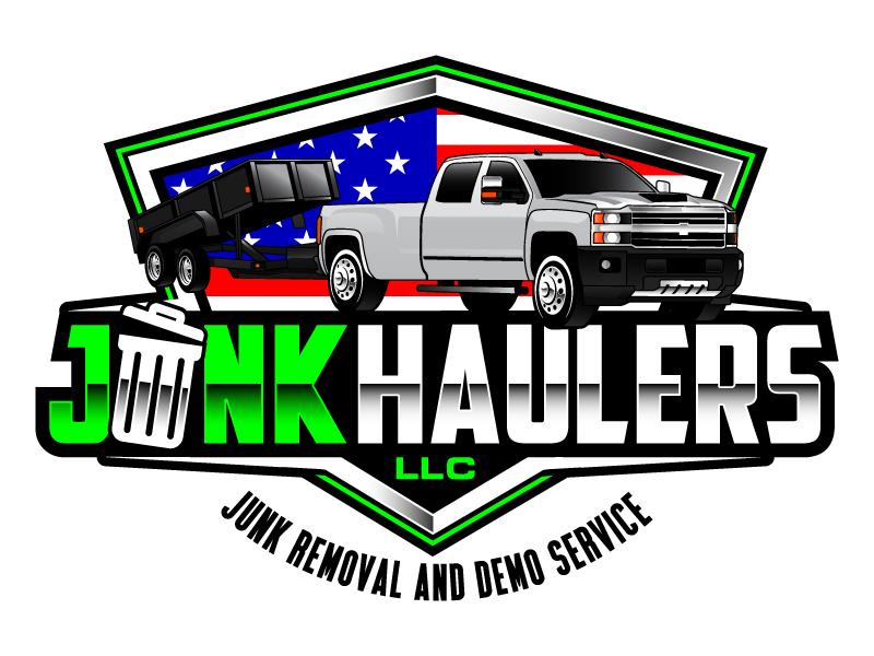 Junk Haulers LLC logo design by daywalker