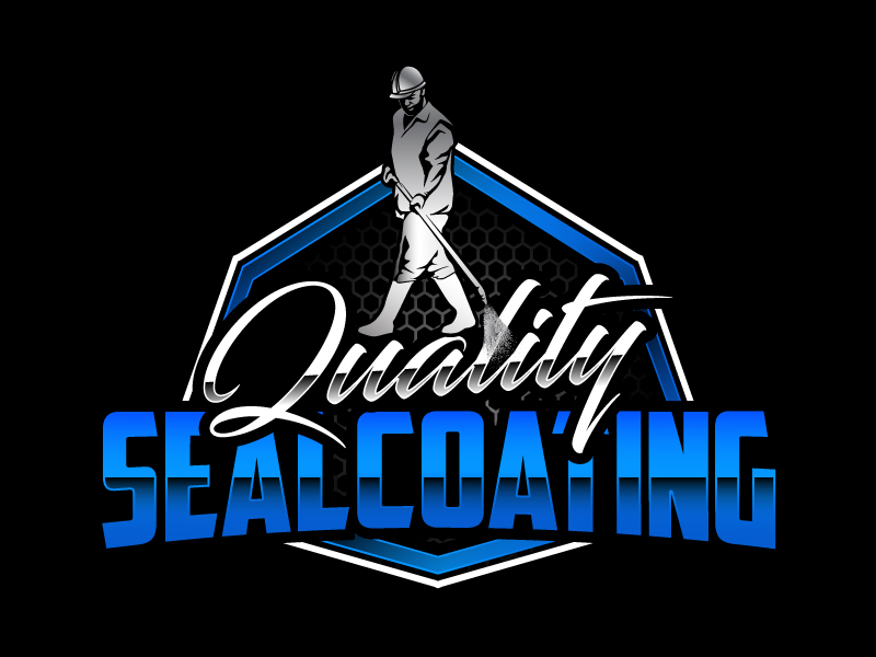 Quality Sealcoating logo design by daywalker