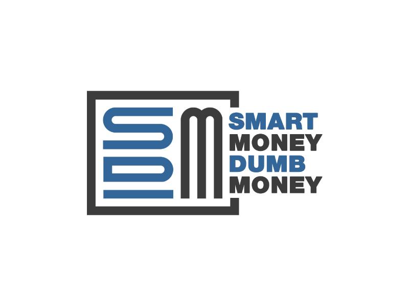 Smart Money Dumb Money logo design by Erasedink