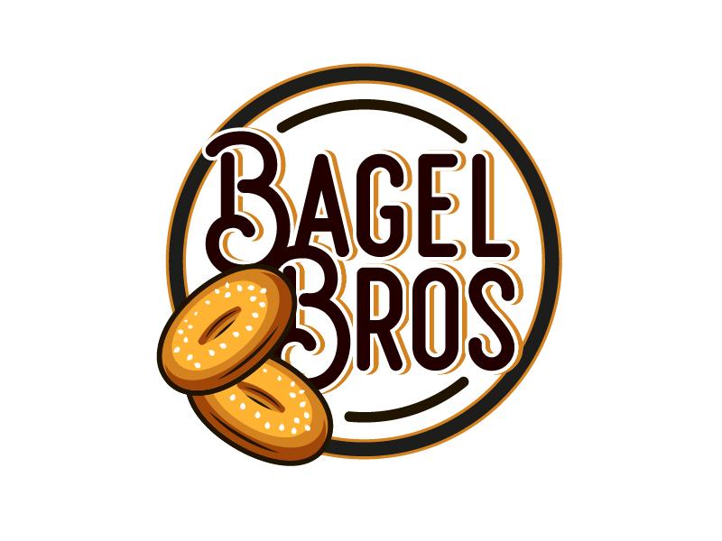 Bagel Bros logo design by il-in