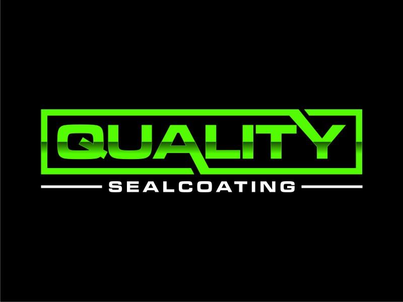 Quality Sealcoating logo design by sheila valencia