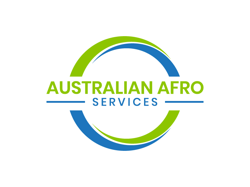 Australian Afro Services logo design by DreamCather