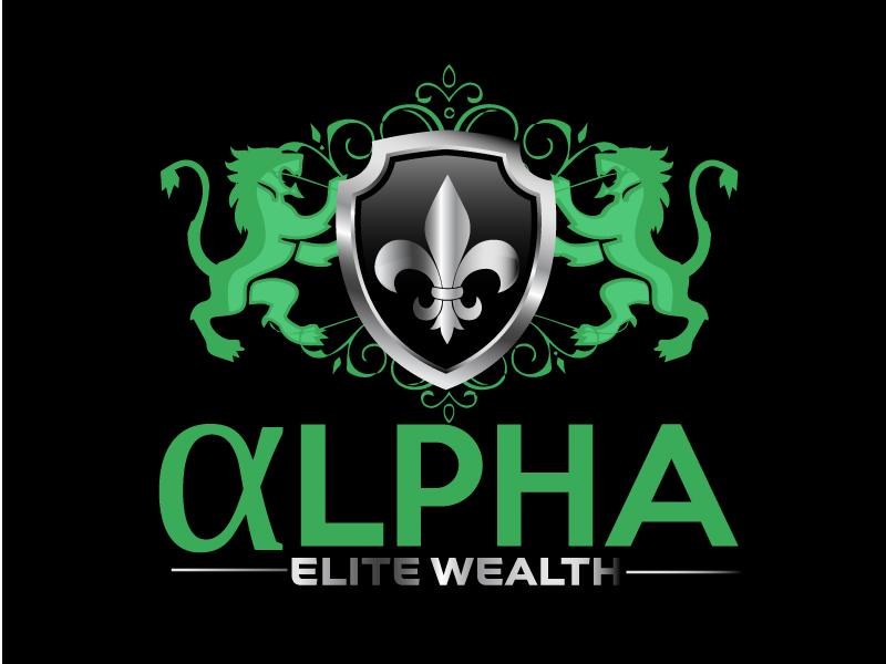 Alpha Elite Wealth logo design by ElonStark