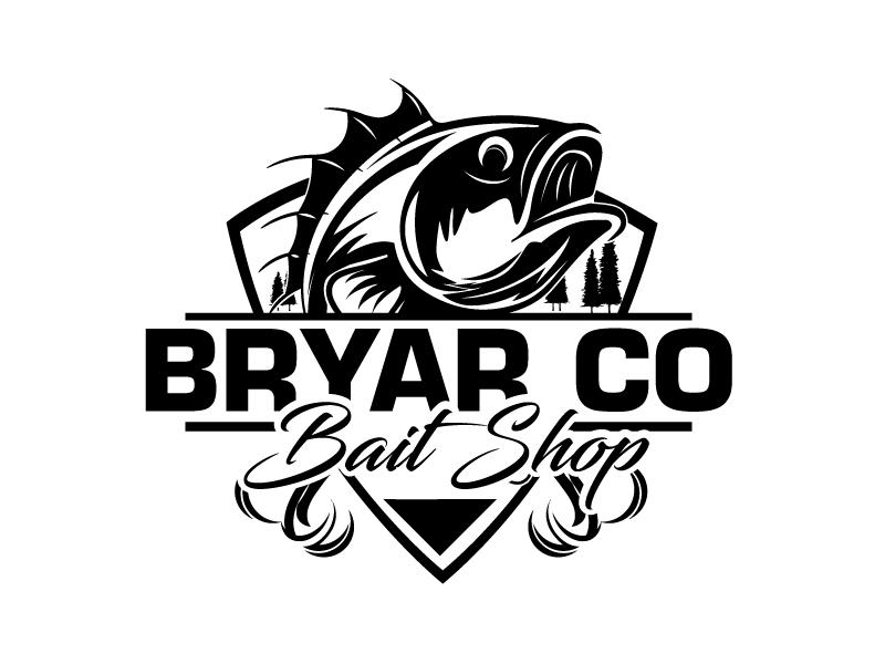 Bryar Co Bait Shop logo design by ElonStark