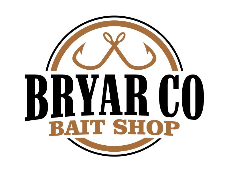 Bryar Co Bait Shop logo design by cintoko