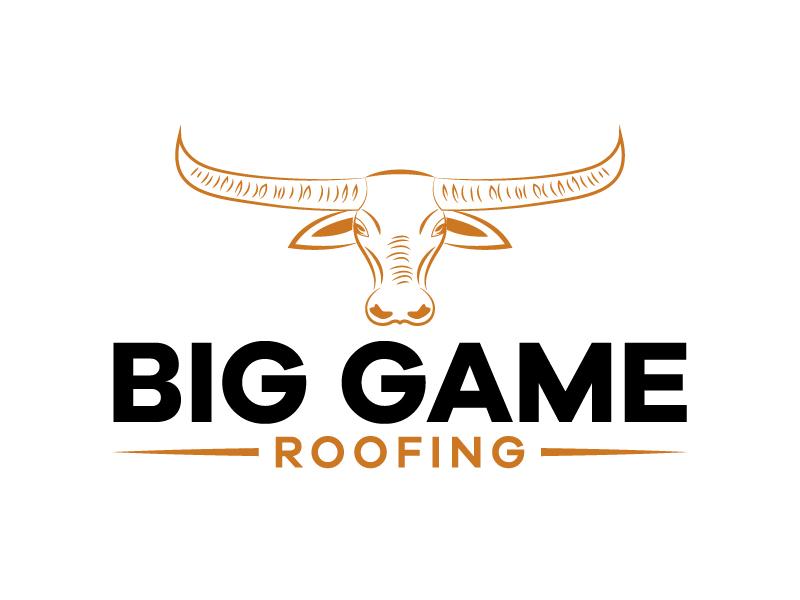 Big Game Roofing logo design by Kirito