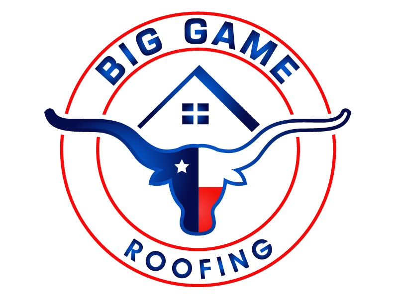 Big Game Roofing logo design by PMG