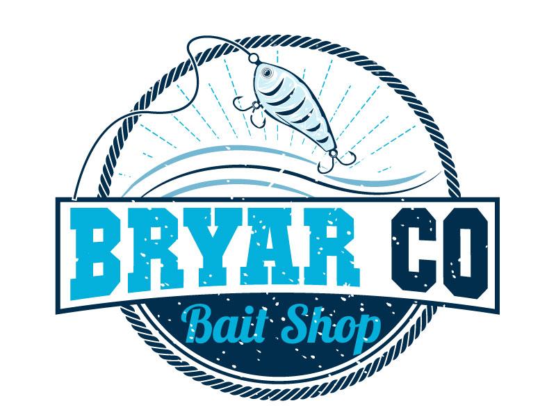 Bryar Co Bait Shop logo design by Suvendu
