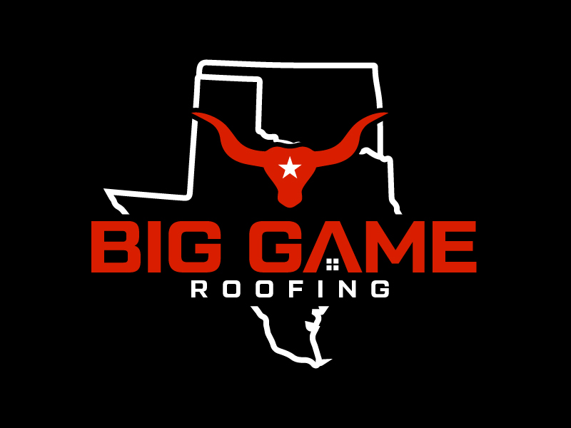 Big Game Roofing logo design by czars