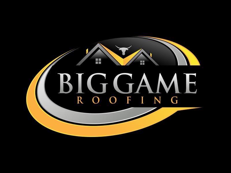 Big Game Roofing logo design by AnandArts