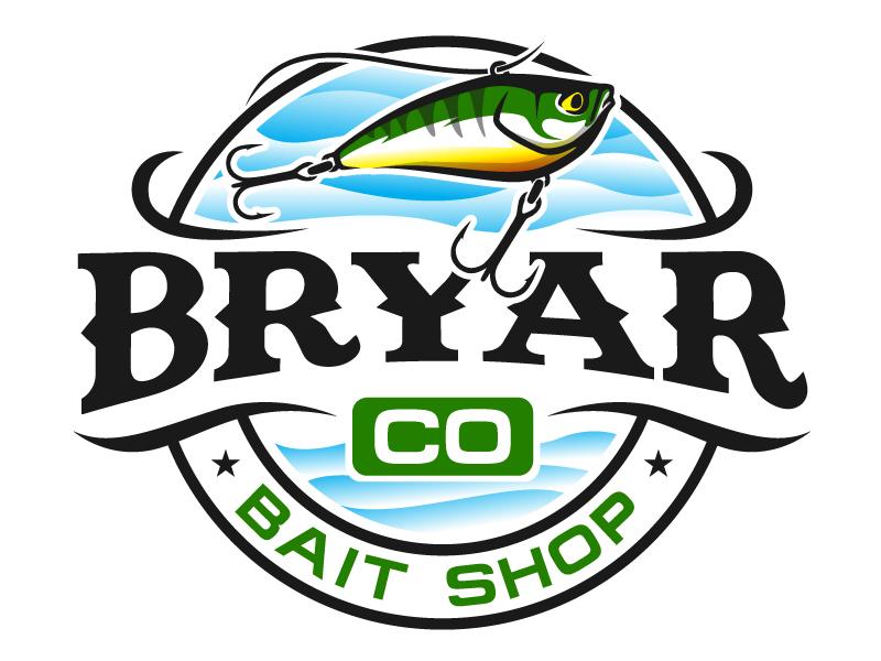Bryar Co Bait Shop logo design by MAXR