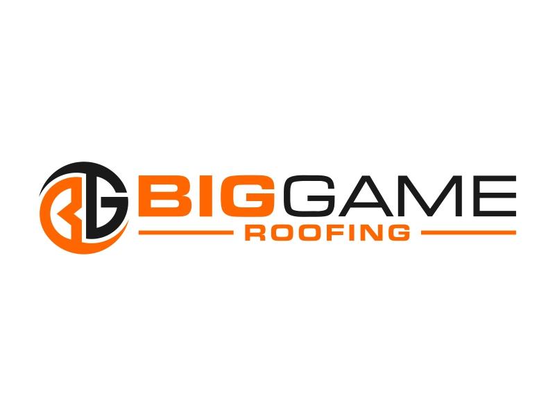Big Game Roofing logo design by FriZign