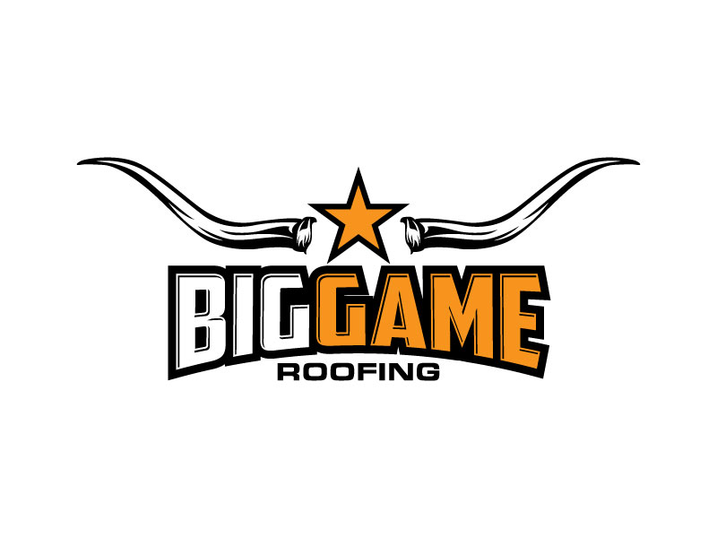 Big Game Roofing logo design by torresace