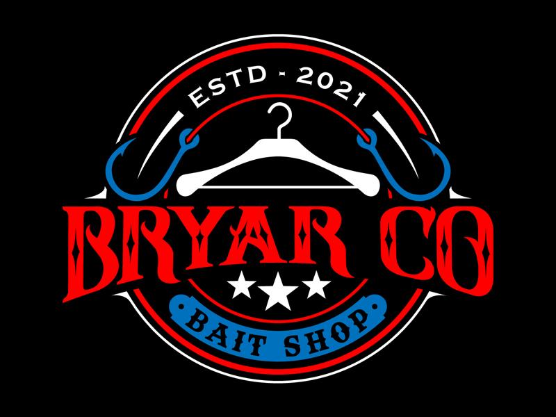 Bryar Co Bait Shop logo design by DreamLogoDesign