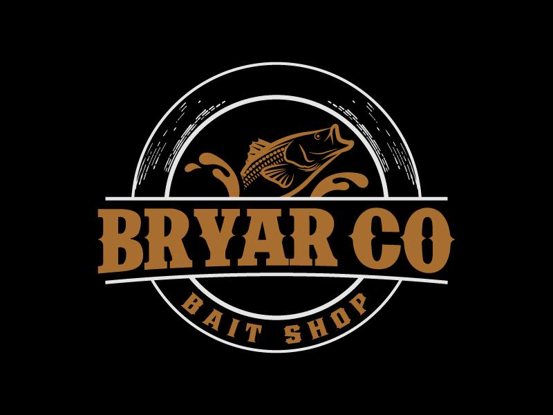 Bryar Co Bait Shop logo design by Kirito