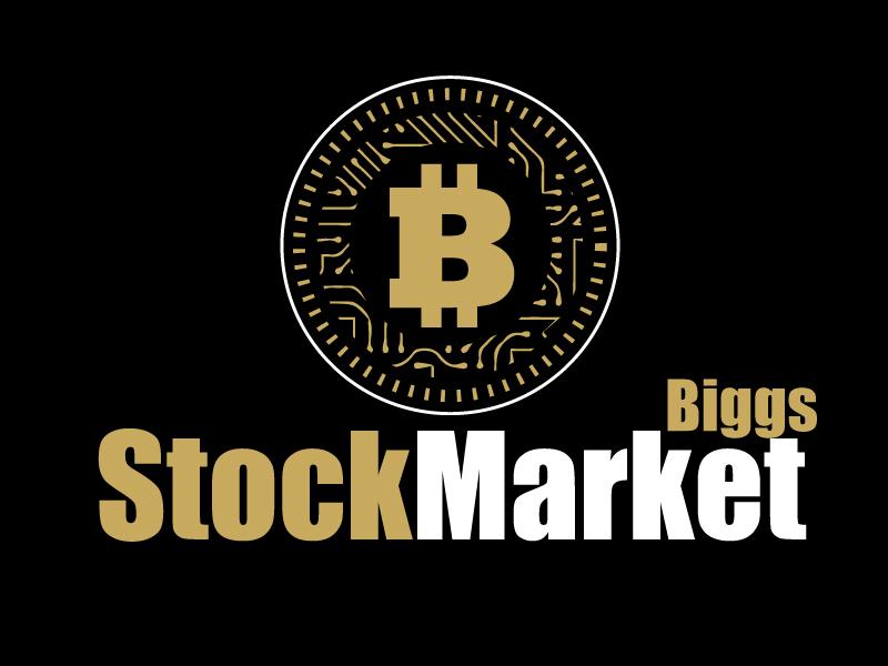 StockMarketBiggs logo design by ElonStark