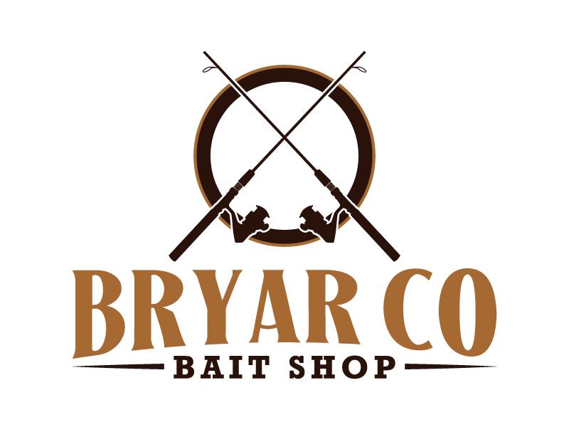 Bryar Co Bait Shop logo design by karjen