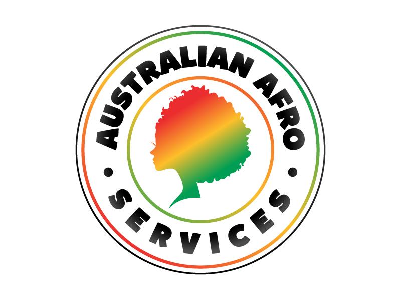 Australian Afro Services logo design by Kirito