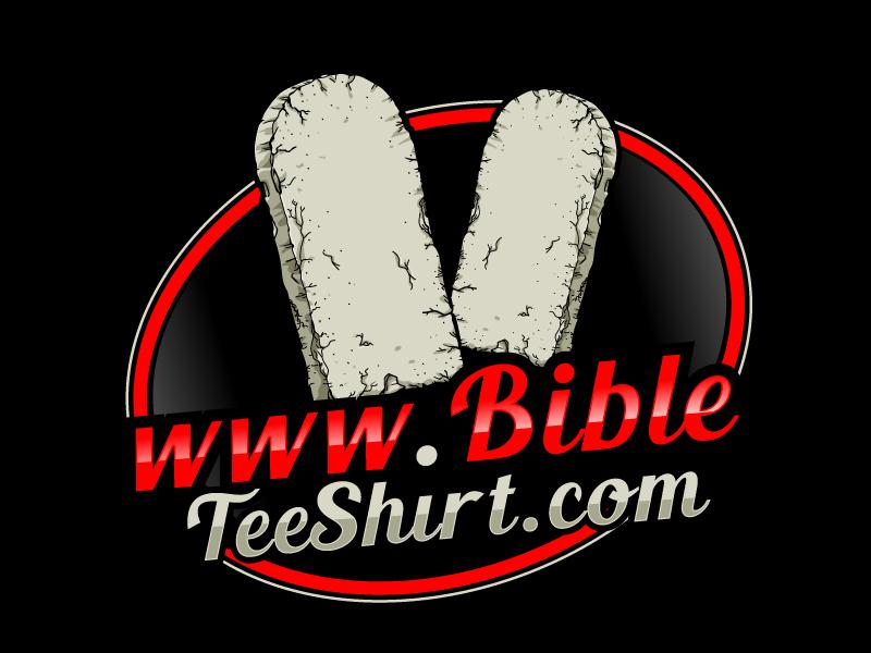 www.BibleTeeShirt.com logo design by uttam