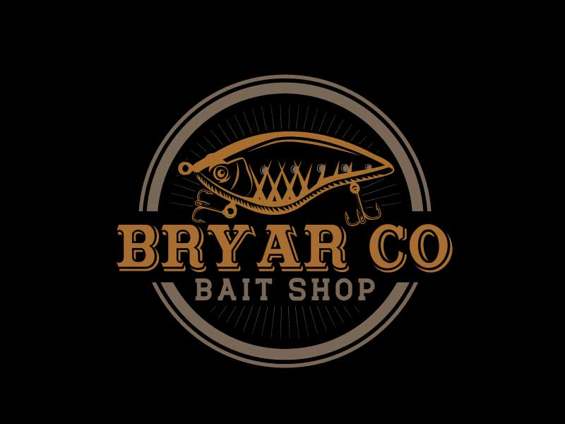 Bryar Co Bait Shop logo design by LogoInvent