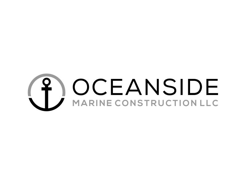 Oceanside Marine Construction, LLC Logo Design