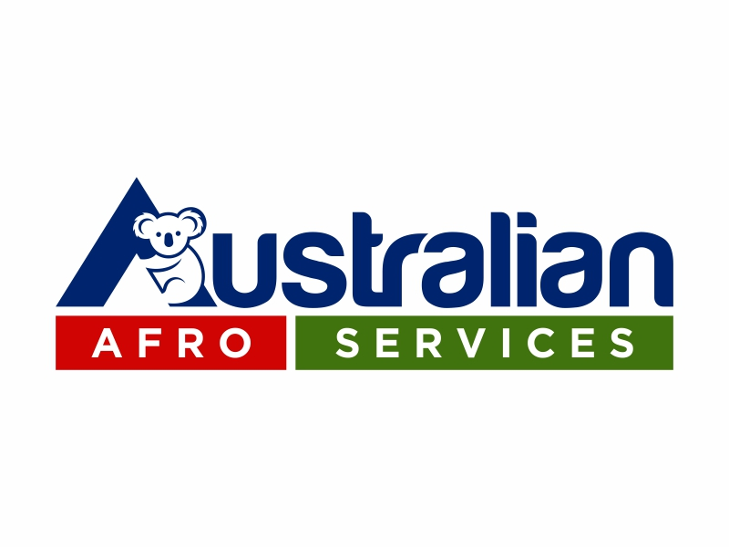 Australian Afro Services logo design by FriZign