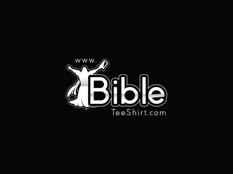 www.BibleTeeShirt.com logo design by Webphixo