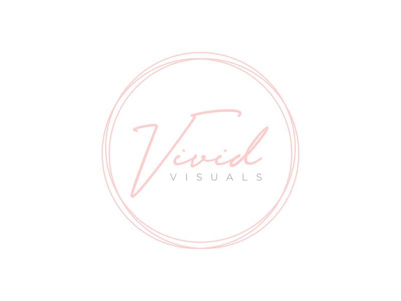 vivid visuals logo design by GassPoll