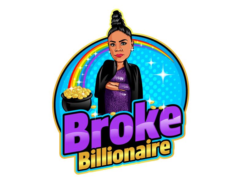 Broke Billionaire logo design by DreamLogoDesign