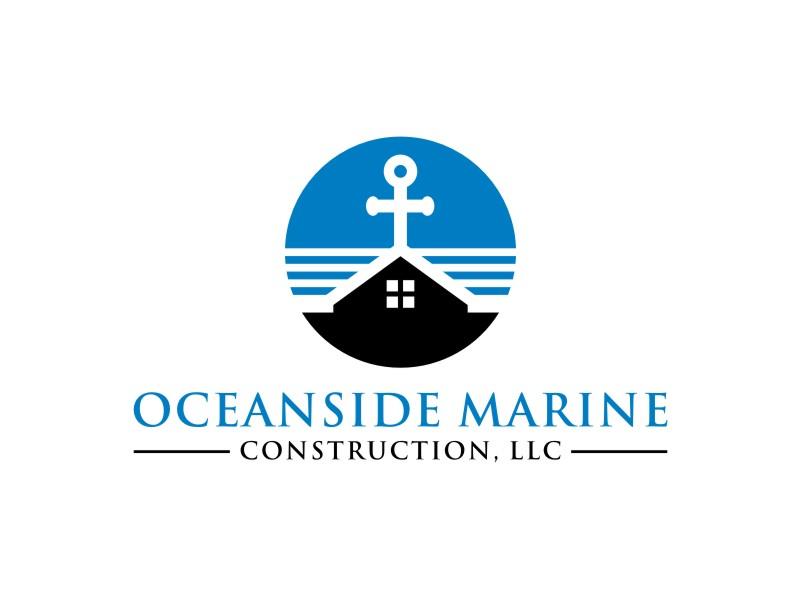 Oceanside Marine Construction, LLC logo design by sabyan