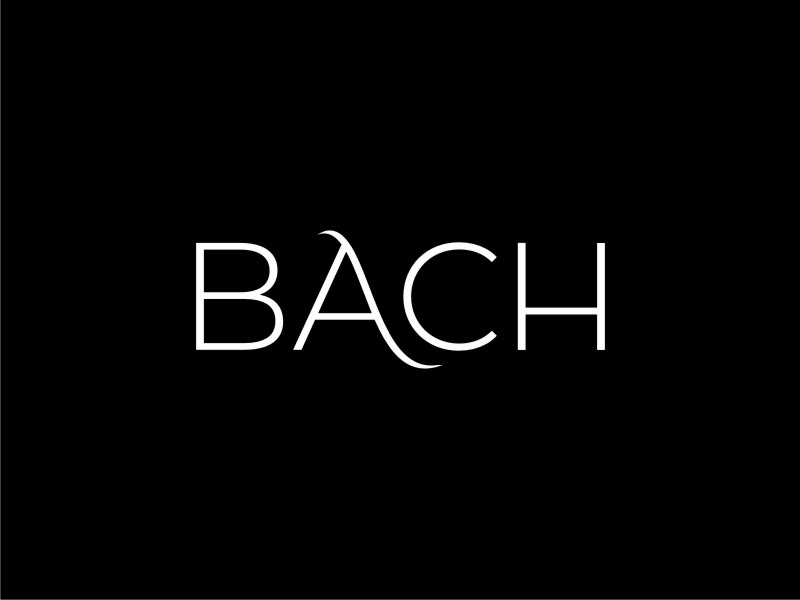 BACH logo design by sheila valencia