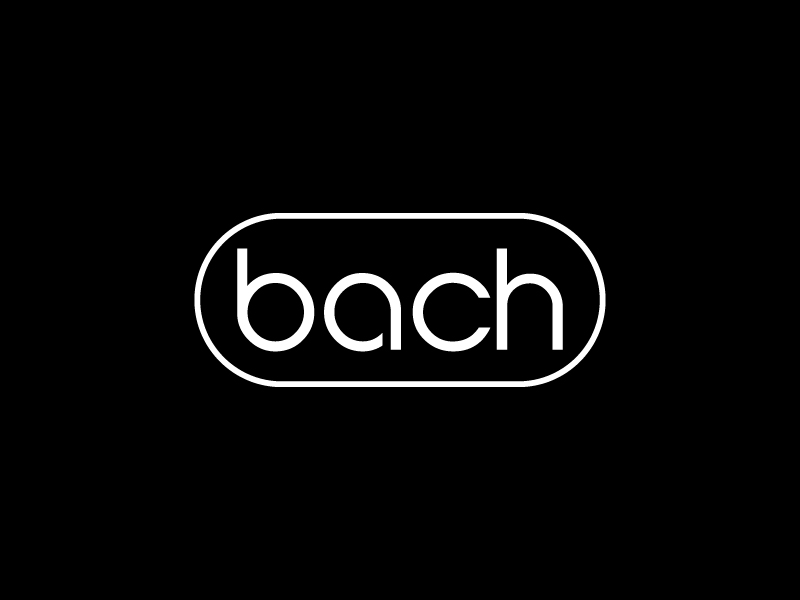 BACH logo design by jonggol
