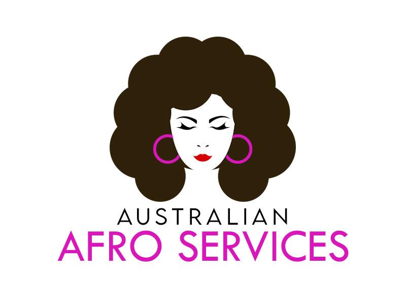 Australian Afro Services logo design by kunejo