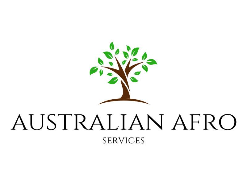 Australian Afro Services logo design by jetzu