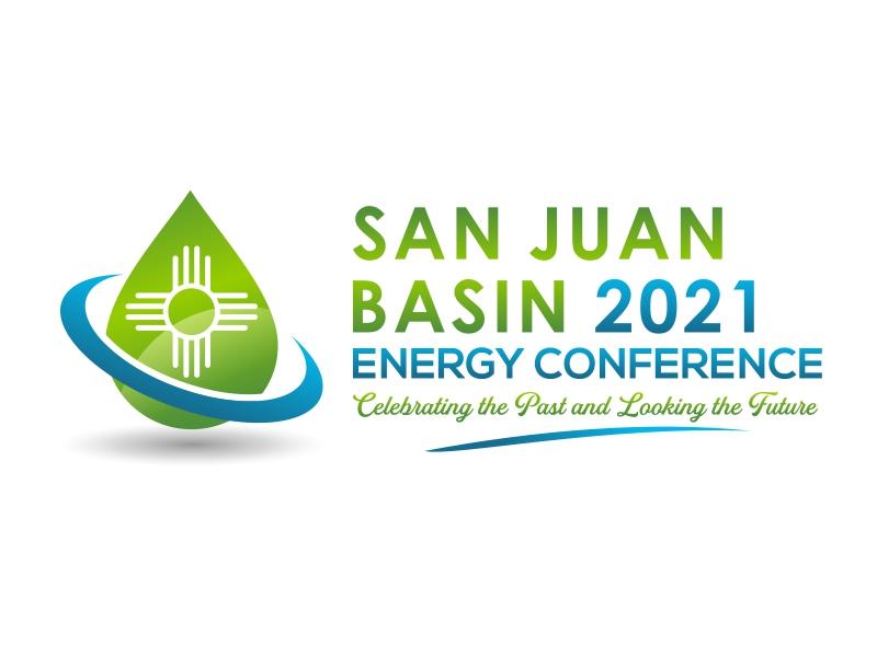 San Juan Basin Energy Conference logo design by cintoko