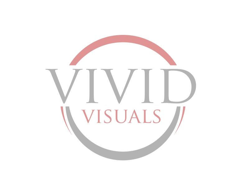 vivid visuals logo design by serprimero