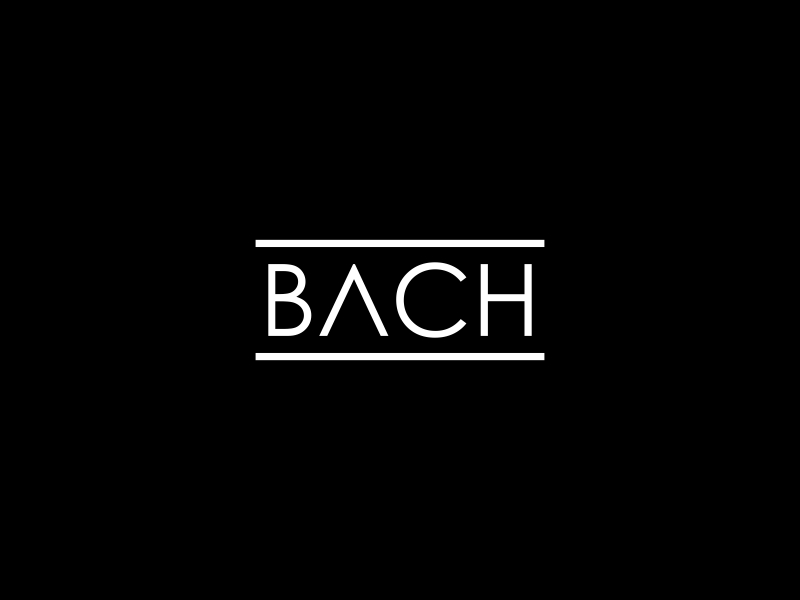 BACH logo design by Valiant
