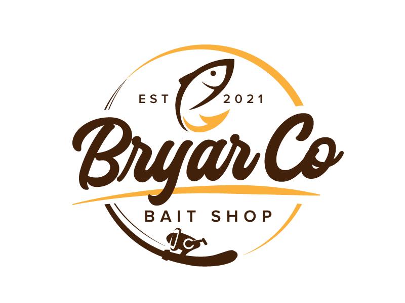 Bryar Co Bait Shop logo design by jaize