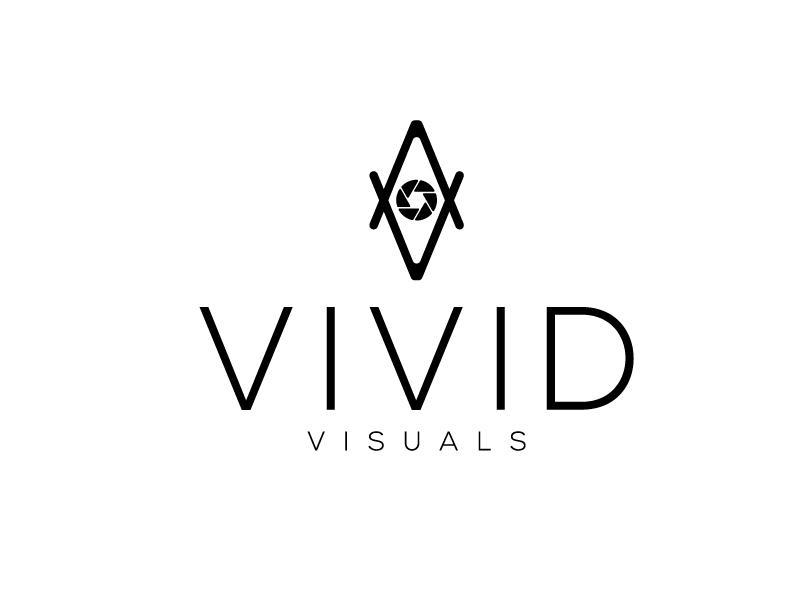 vivid visuals logo design by Sami Ur Rab