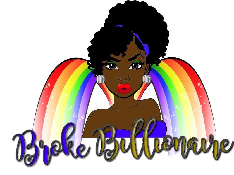 Broke Billionaire logo design by Carli Yario Lindahl